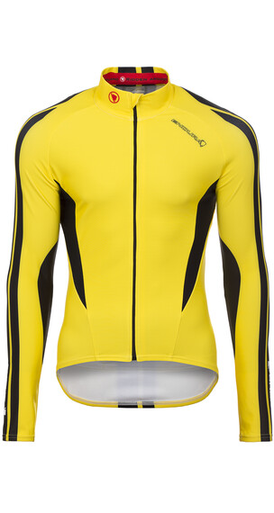 Endura FS260-Pro Roubaix - Maillot manga larga Hombre - amarillo